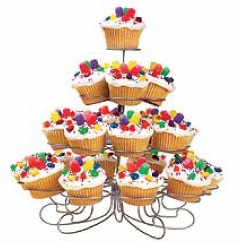 Expositor metálico para Cupcakes desmontable